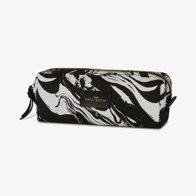 Black Marble Make-up Bag