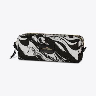 Black Marble Make-up Bag
