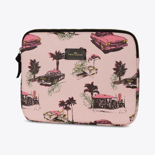 Pink Cadillac Tablet Sleeve