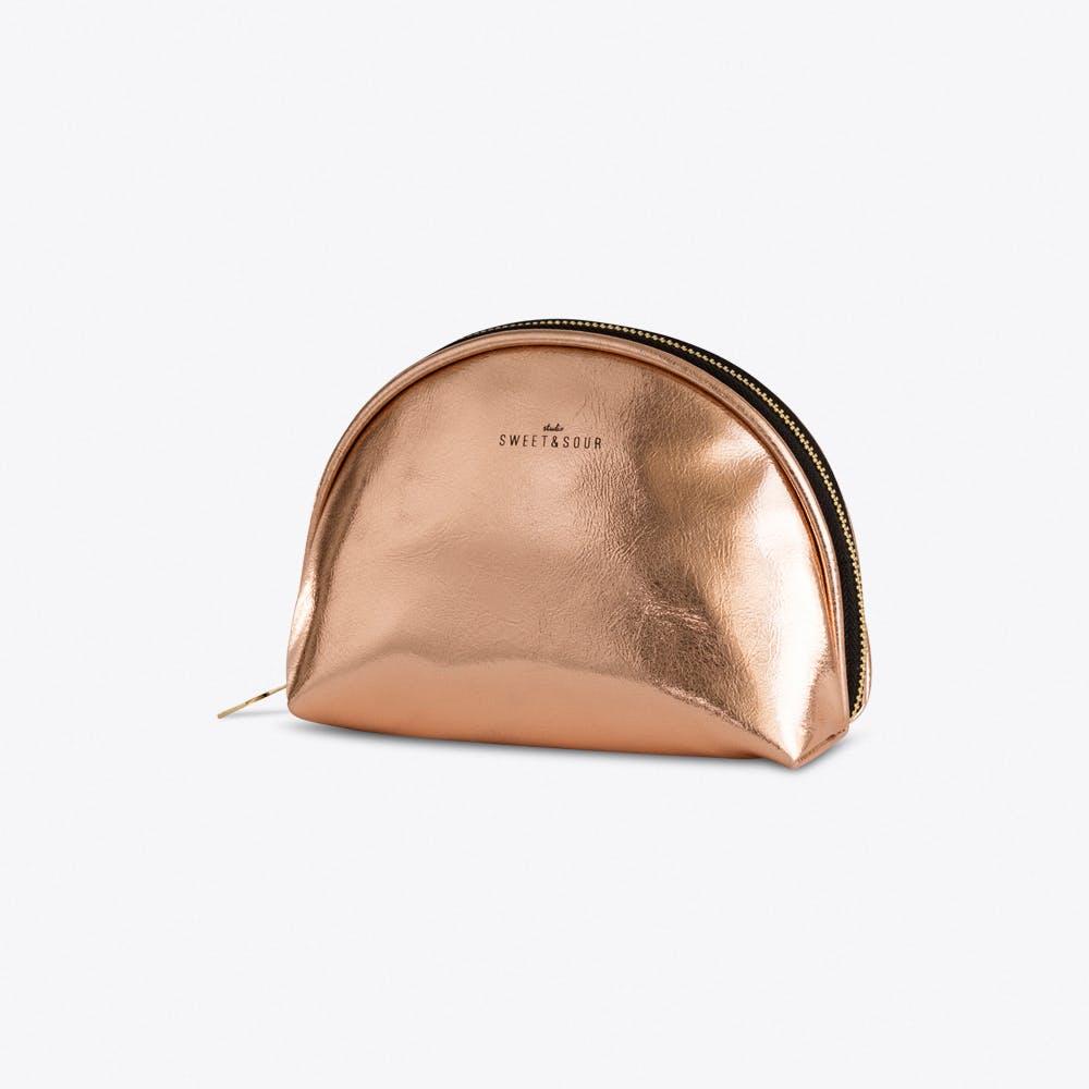 Copper Make-up Bag Small