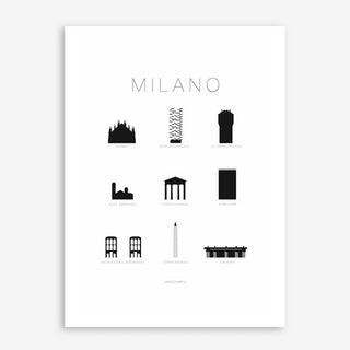 Milano Art Print