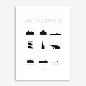 Antwerpen Art Print