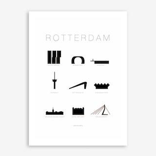 Rotterdam Art Print