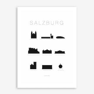 Salzburg Art Print