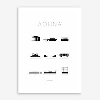 Athene Art Print
