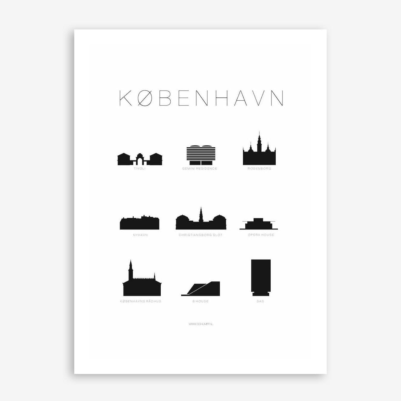 Kobenhavn Print
