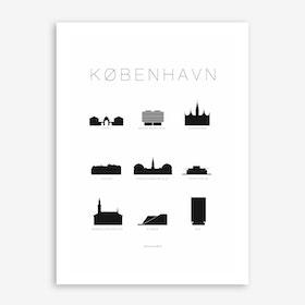 Kobenhavn Art Print