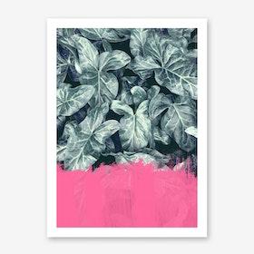 Pink Sorbet On Jungle Print
