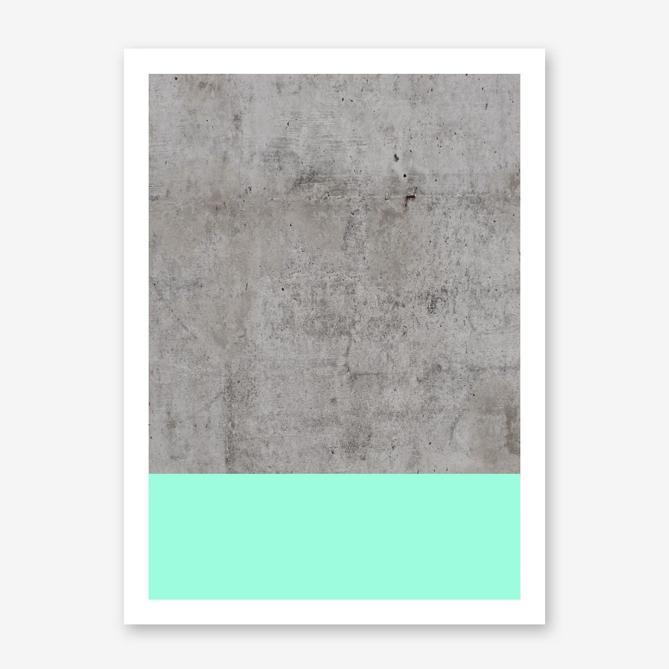 Sea On Concrete Print