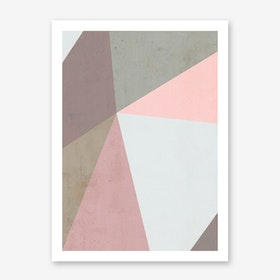 Delicate Geometry Art Print