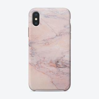Blush Marble iPhone Case