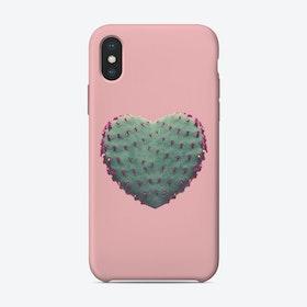 Cactus Heart iPhone Case