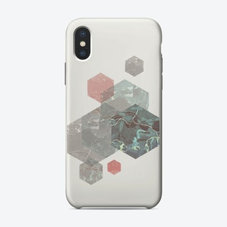 Exagonal Love iPhone Case