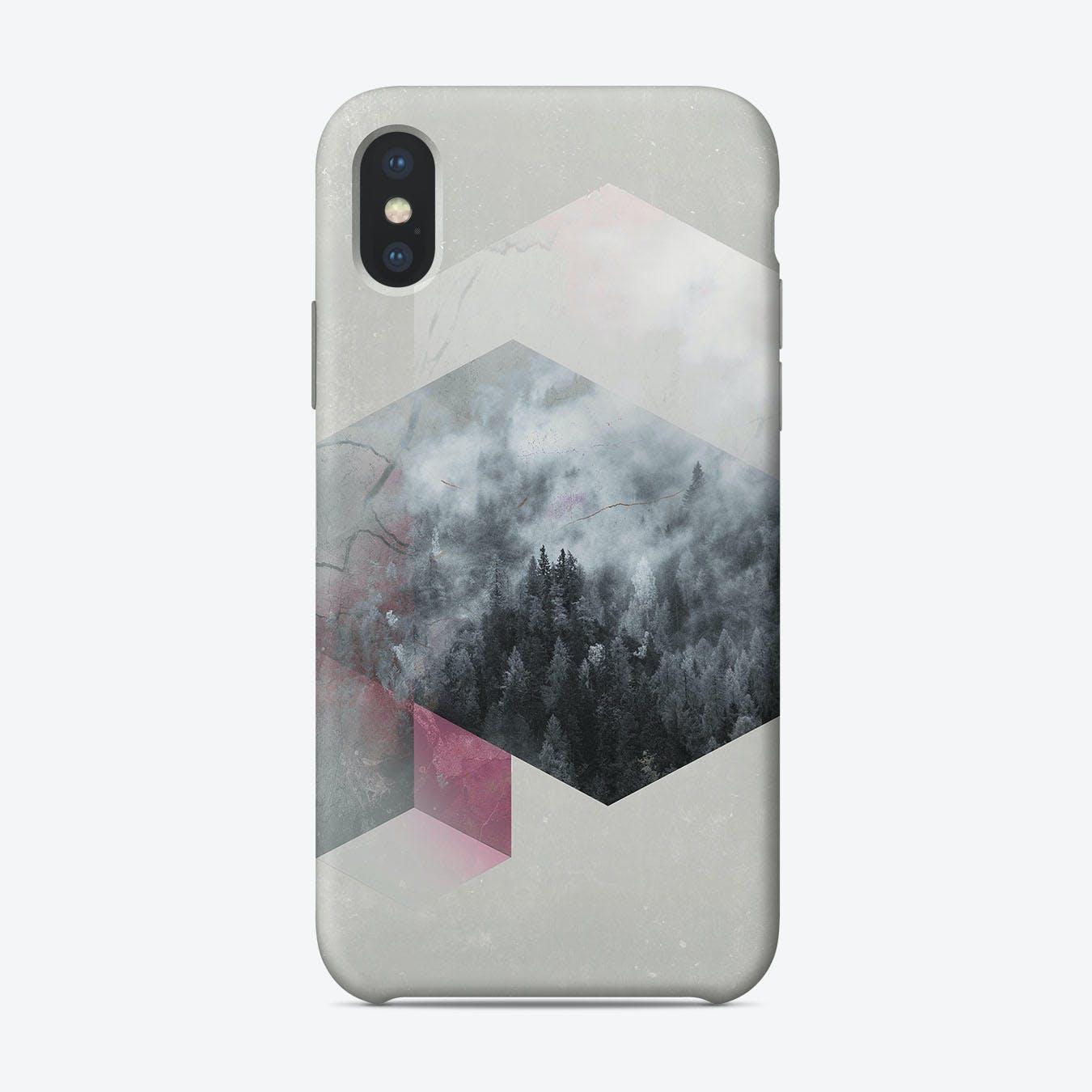 Exagonal Winetr iPhone Case
