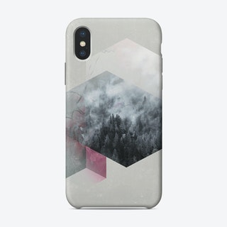 Exagonal Winetr iPhone Case