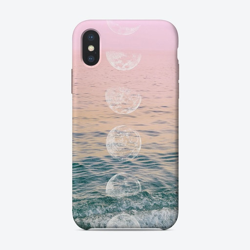 Moontime Beach iPhone Case