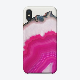 Pink Agate iPhone Case