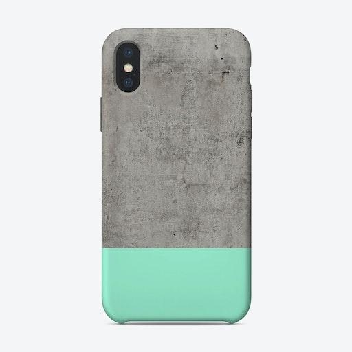 Sea On Concrete iPhone Case