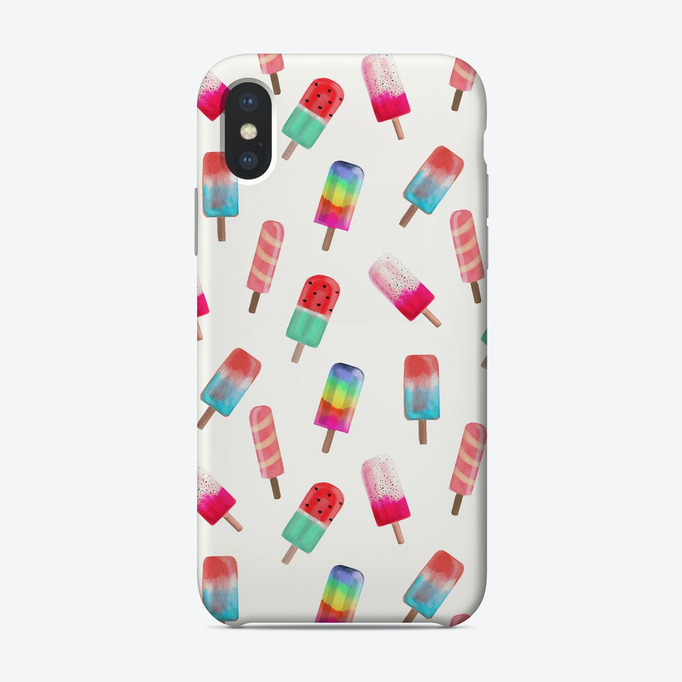 Watercolored Popsicles iPhone Case