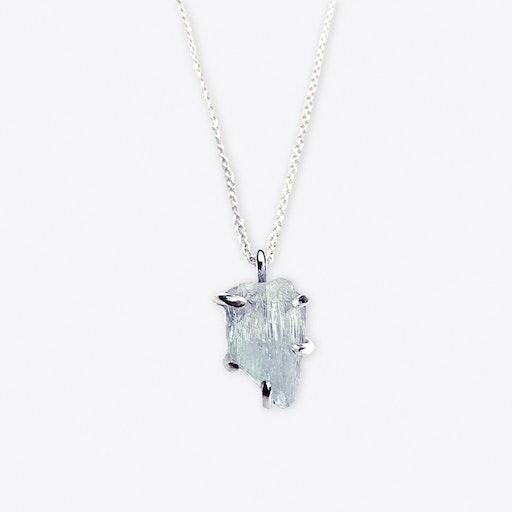 Talisman Rock Pendant - Aquamarine