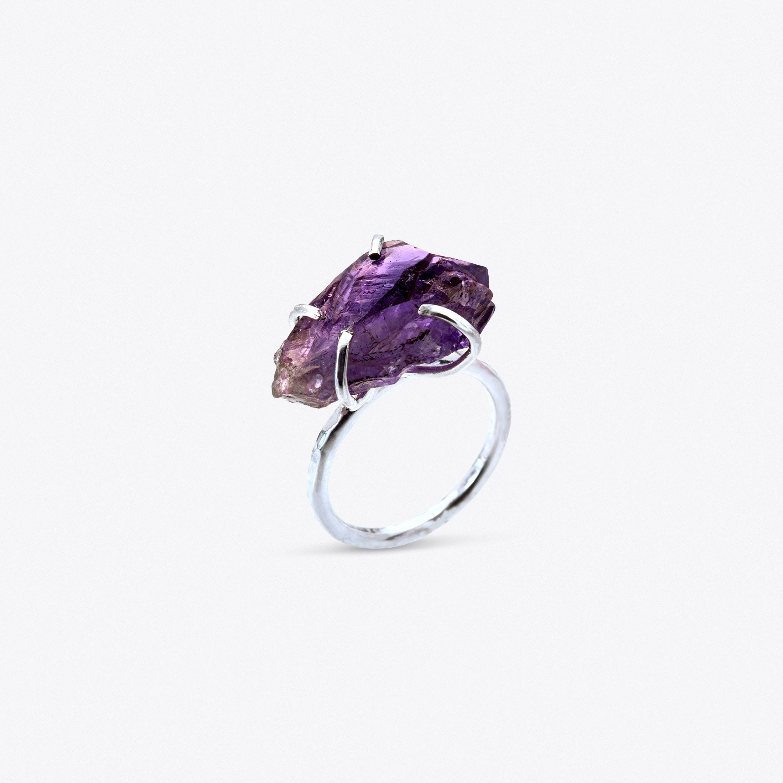 Rock Ring - Amethyst