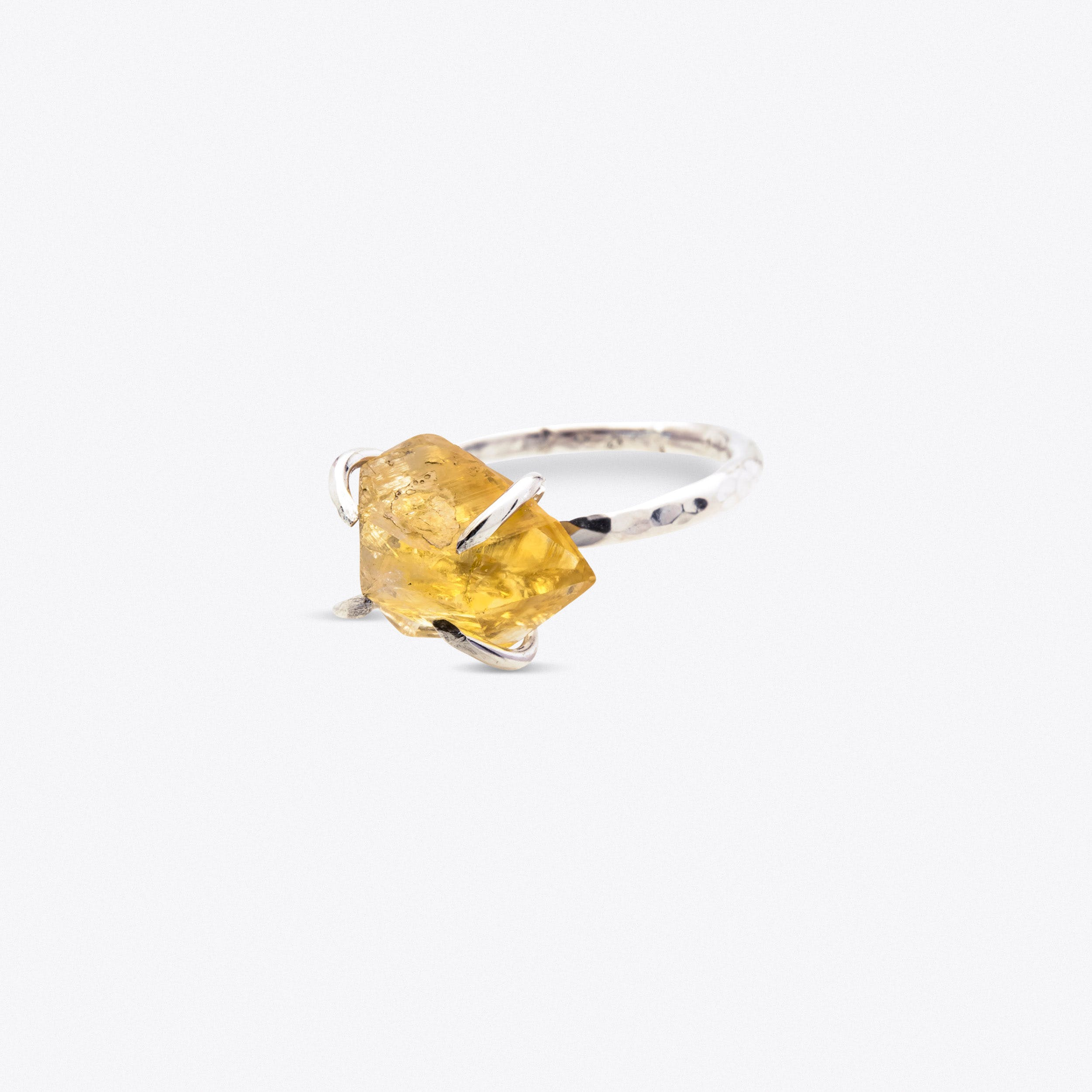 Rock Ring - Citrine
