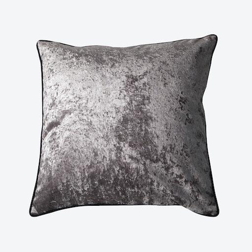 Grey Velvet Cushion