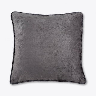 Ash Grey Velvet Cushion