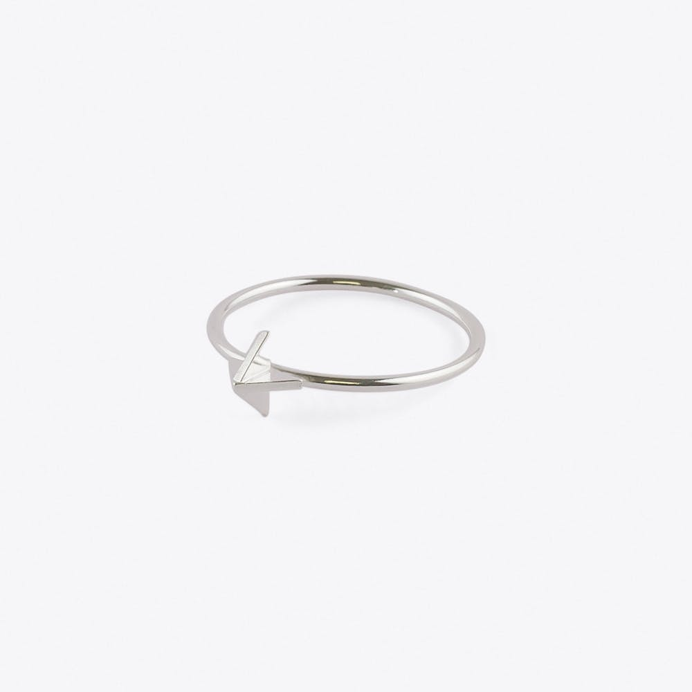 Ring X in Silver