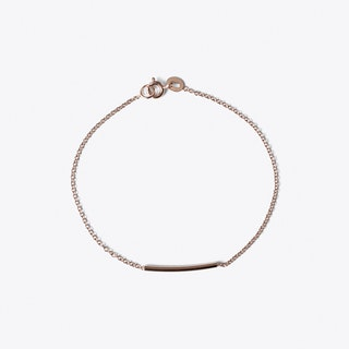 Pipe Bracelet in Rose Gold