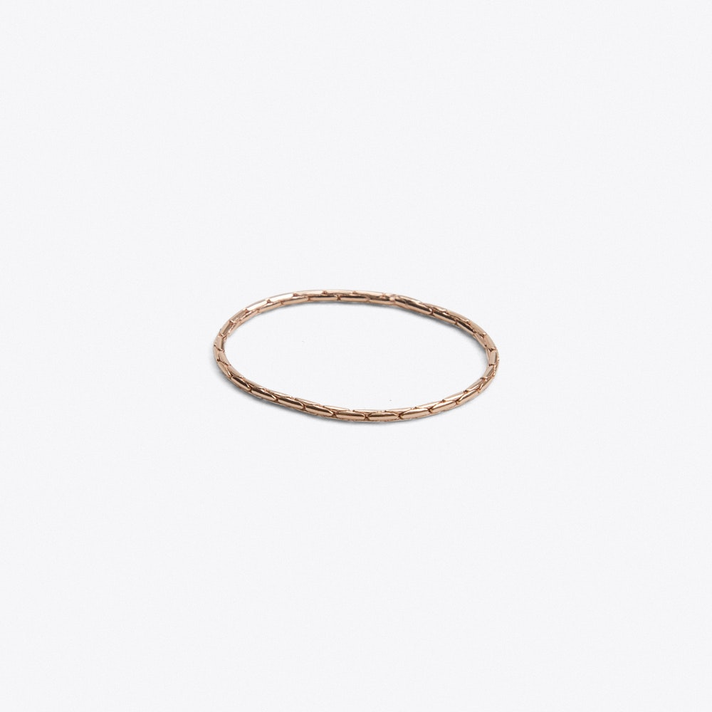 6f4092c9a Boston Ring in Rose Gold by Jukserei - Fy