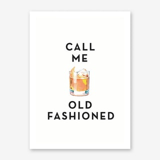 Call Me Old Fashioned Art Print