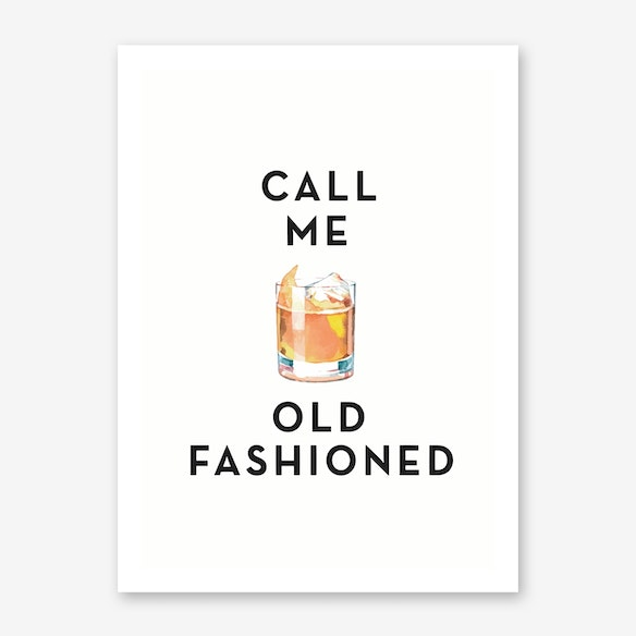 Call Me Old Fashioned Print Free Shipping Fy