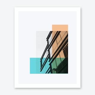 Bauhaus Building B Art Print