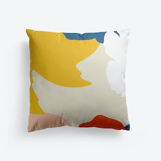 Bricolage In Retro Vibes Cushion