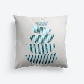 Scandi Stacked Bowls Cushion