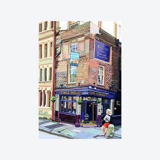 Town of Ramsgate Pub, Wapping, London - A3 Print