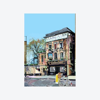 Prospect of Whitby Pub, Wapping, London - A3 Print