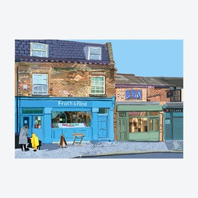 Froth and Rind, Walthamstow Village  A3 Print