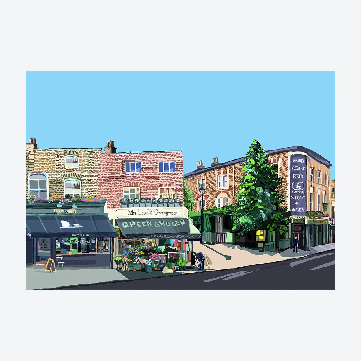 Highbury Barn, Islington A3 Print