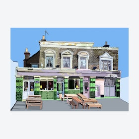 The Nag's Head, Walthamstow Village A3 Print