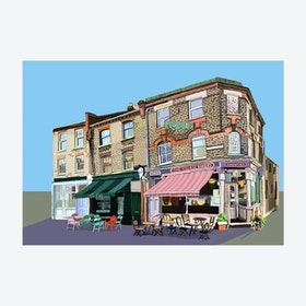 The Village Bakery, Walthamstow Village A3 Print