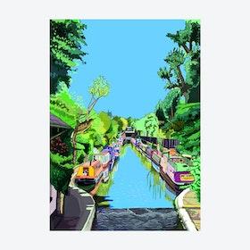 Little Venice, Maida Vale A3 Print