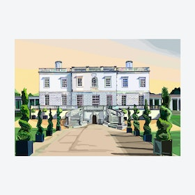 The Queen's House, Greenwich (Blue Sky) A3 Print