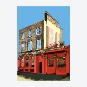 The Dog and Bell, Deptford A3 Print