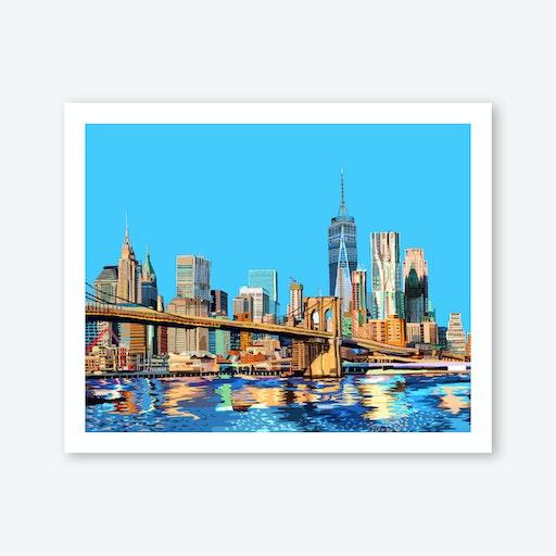 Brooklyn Bridge, New York City A3 Print