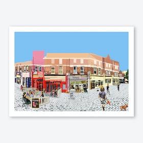 Hildreth Street, Balham, South London A3 Print