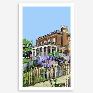 Clissold House, Stoke Newington A3 Art Print