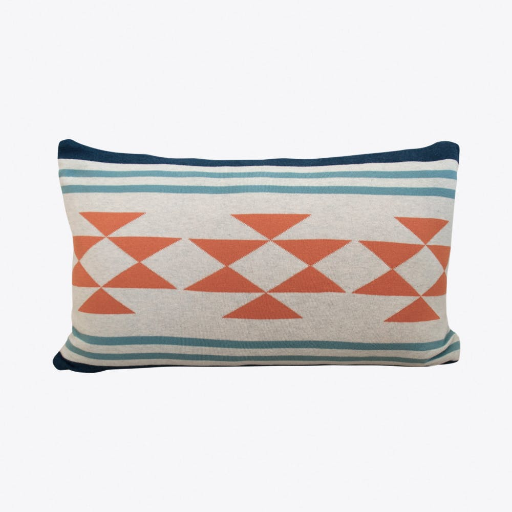 Iben Blue Cushion Cover