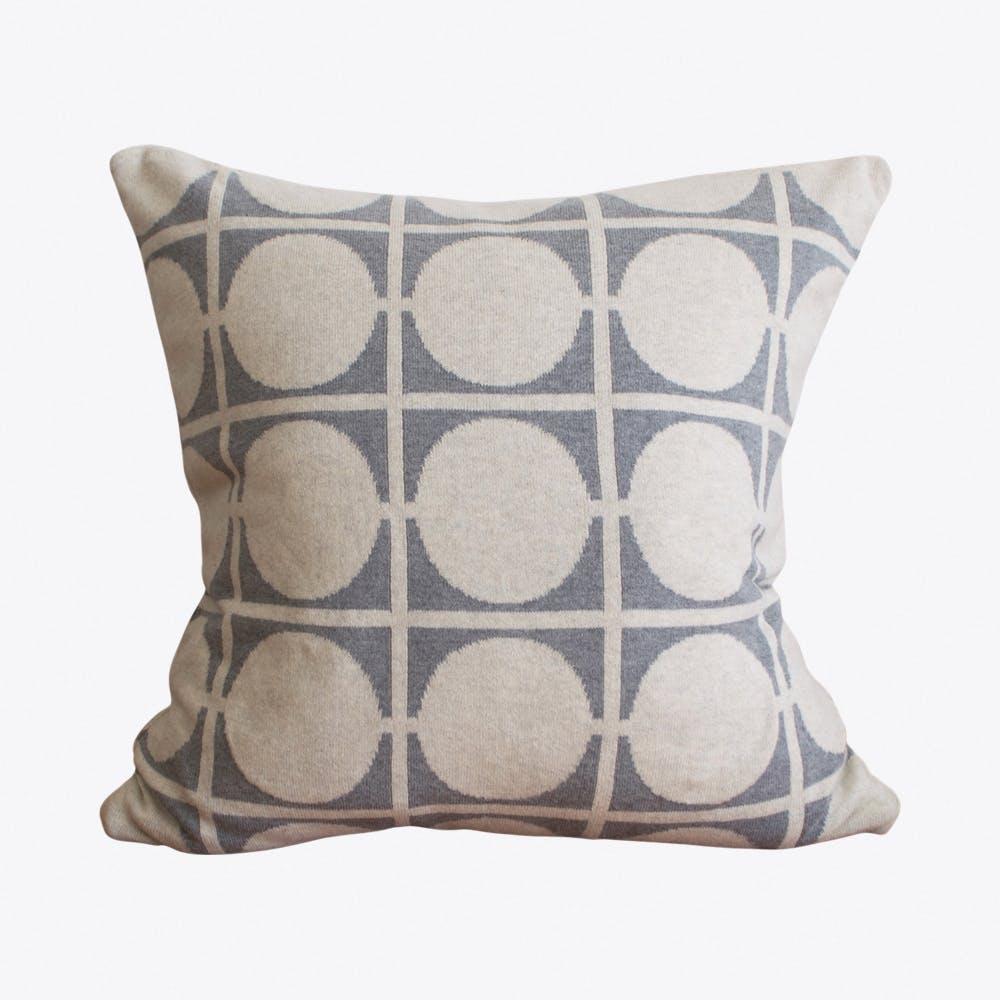 Don Light Grey Cushion Cover